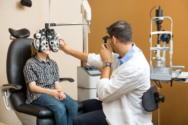Go to the eye doctor regularly