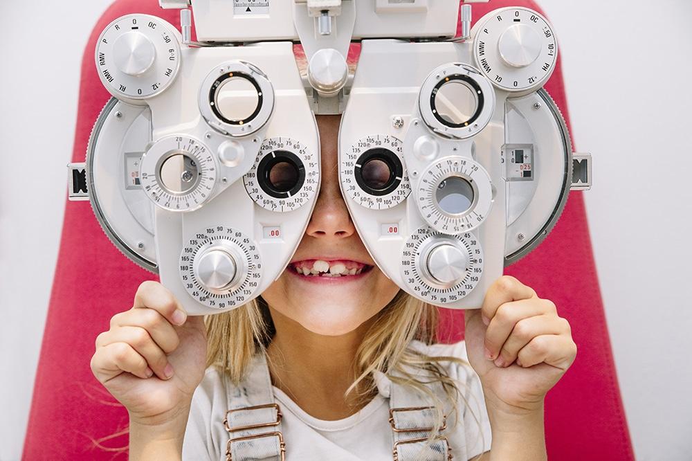 August is Children's Eye Health/Safety Month
