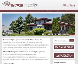 Alpine Eye Care Launches New Website
